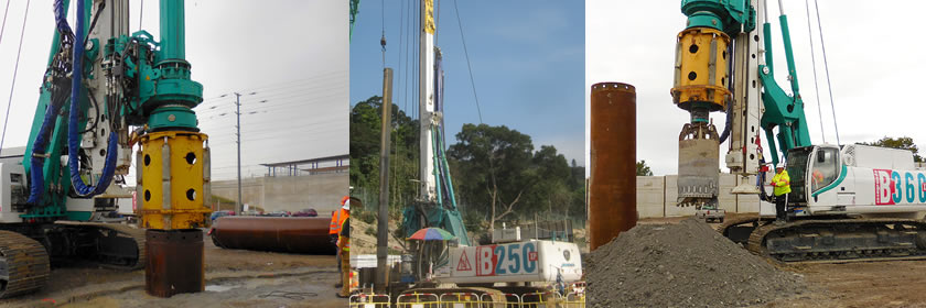 Casagrande Piling Equipment